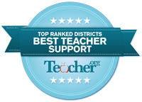 This is the image for the news article titled Top Districts Supporting Teachers