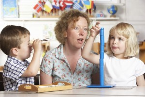 Learn how to become a Montessori teacher.