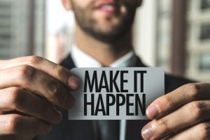 Ways to make it happen